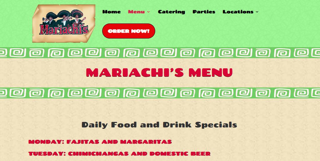Mariachi'sMexican Restaurants in St. Louis, MO