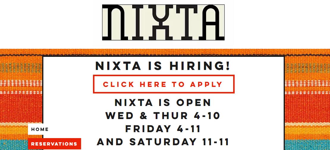 Nixta Mexican Restaurants in St. Louis, MO