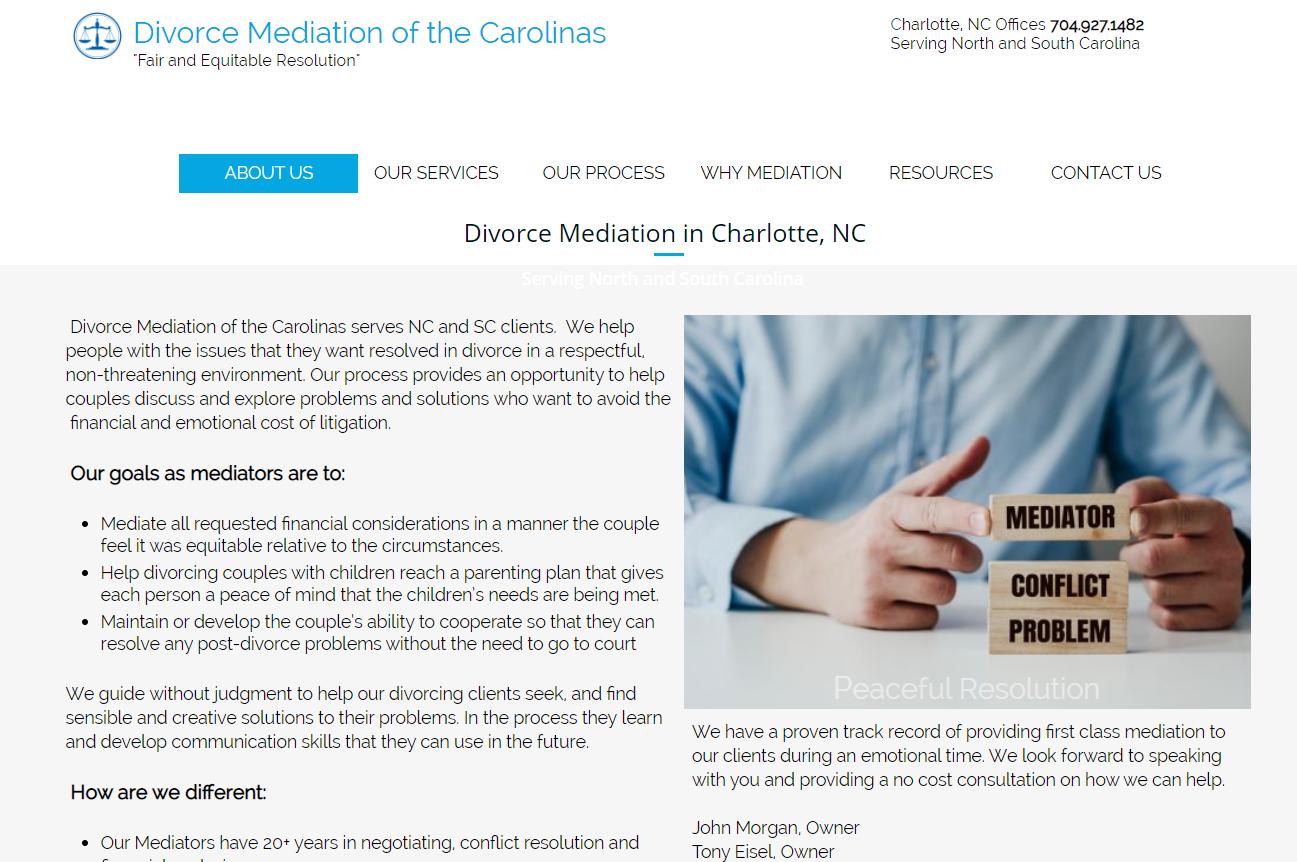mediators in Charlotte