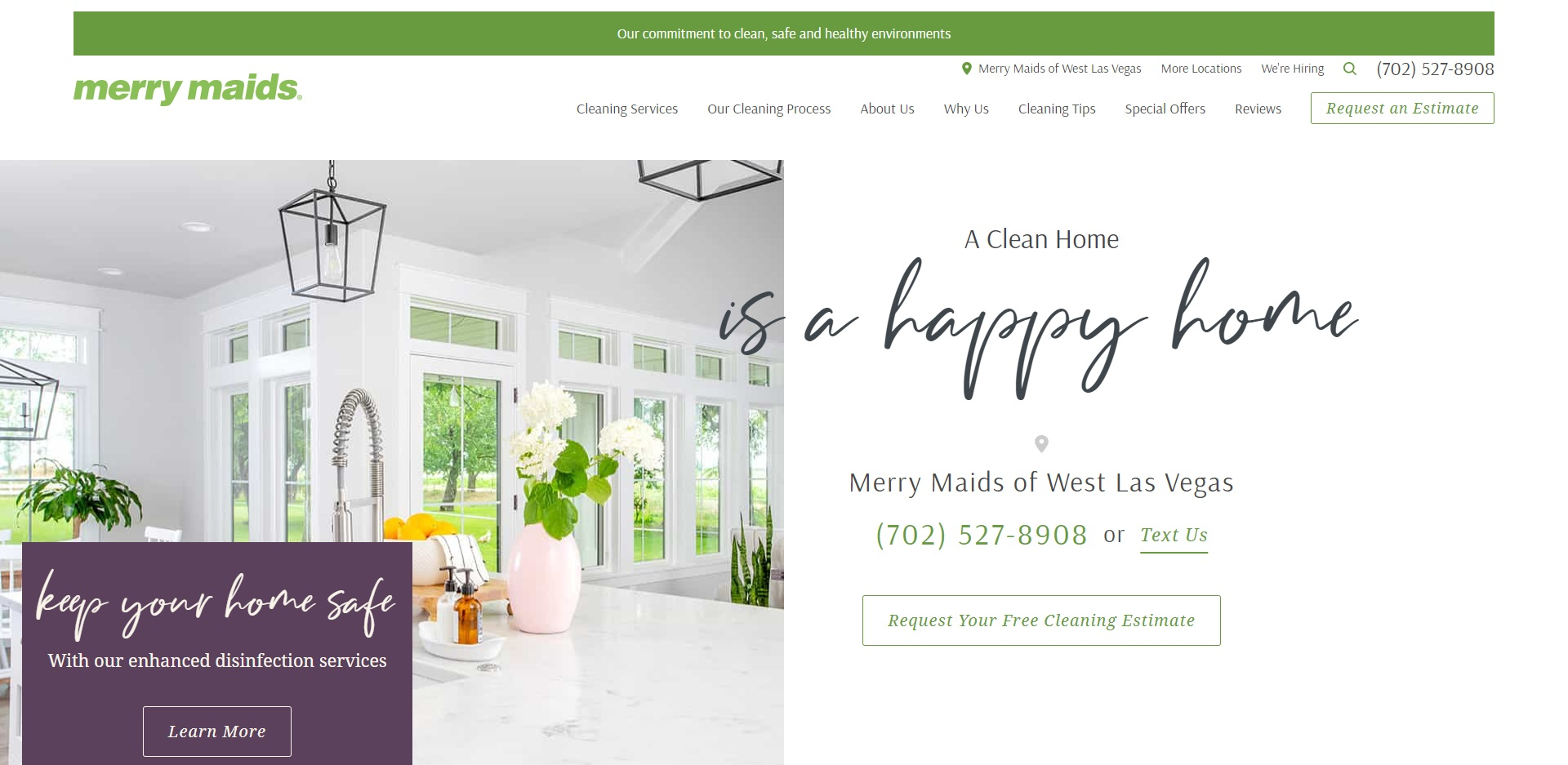Las Vegas, NV's Best House Cleaning Services