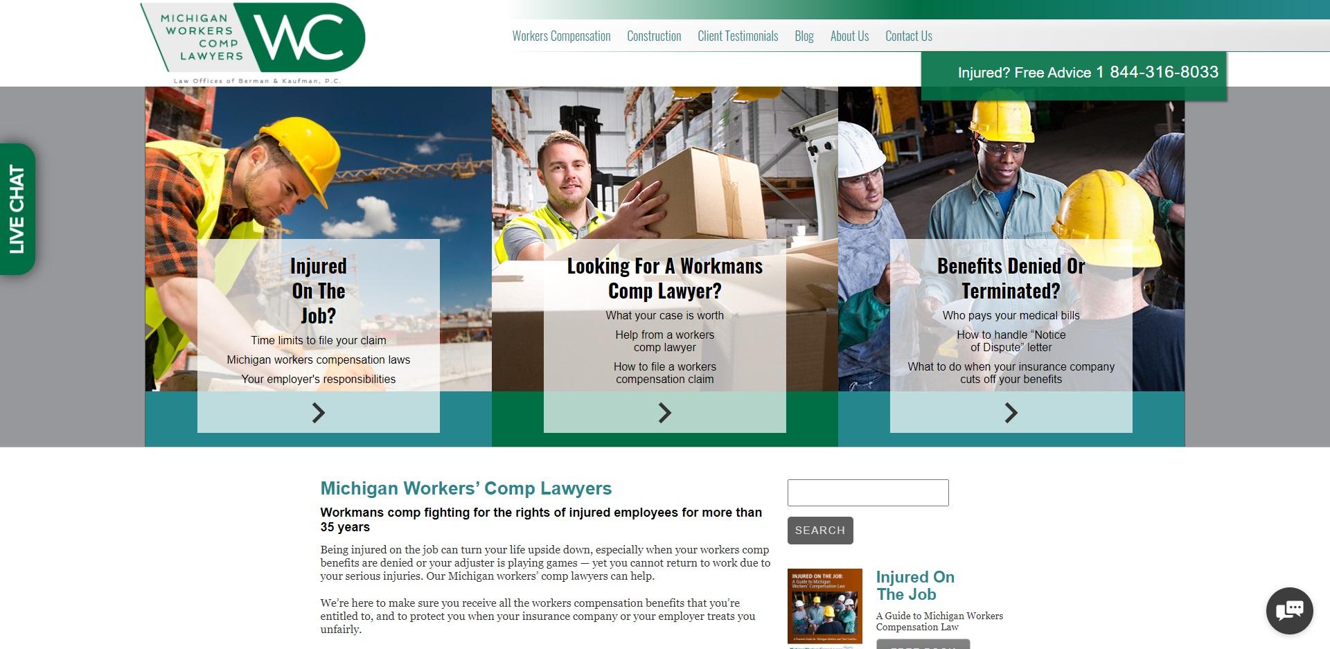 5 Best Compensation Attorneys in Detroit, MI