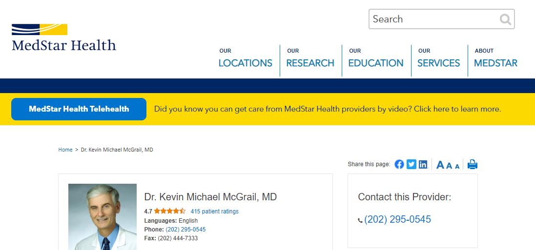 Dr. Kevin Michael McGrail