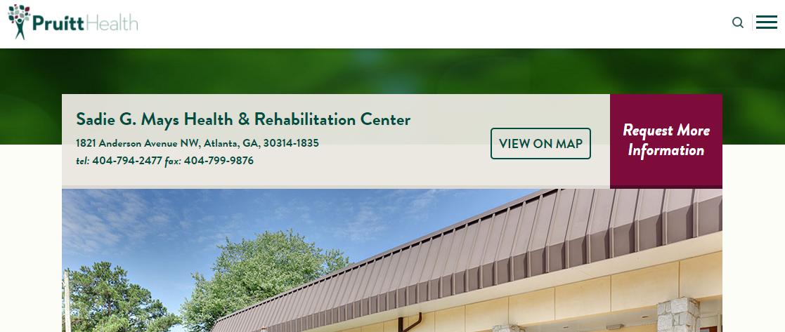 Sadie G. Mays Health and Rehabilitation Center