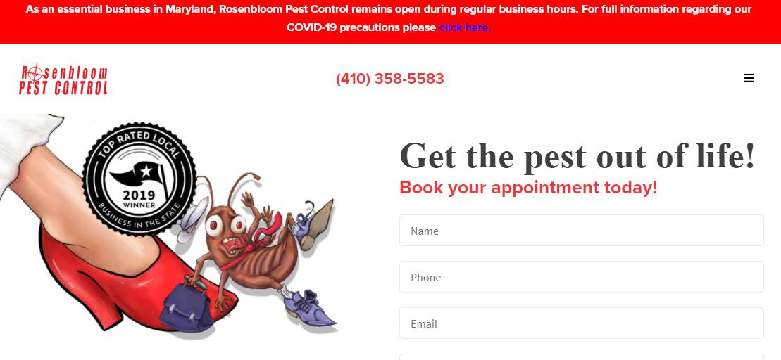 Rosenbloom Pest Control, Inc.