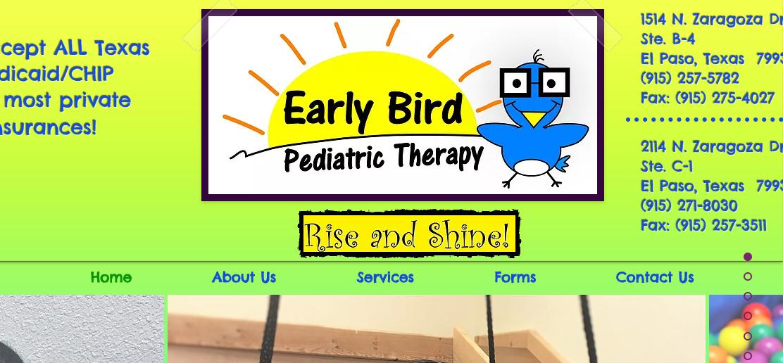 Early Bird Pediatric Therapy