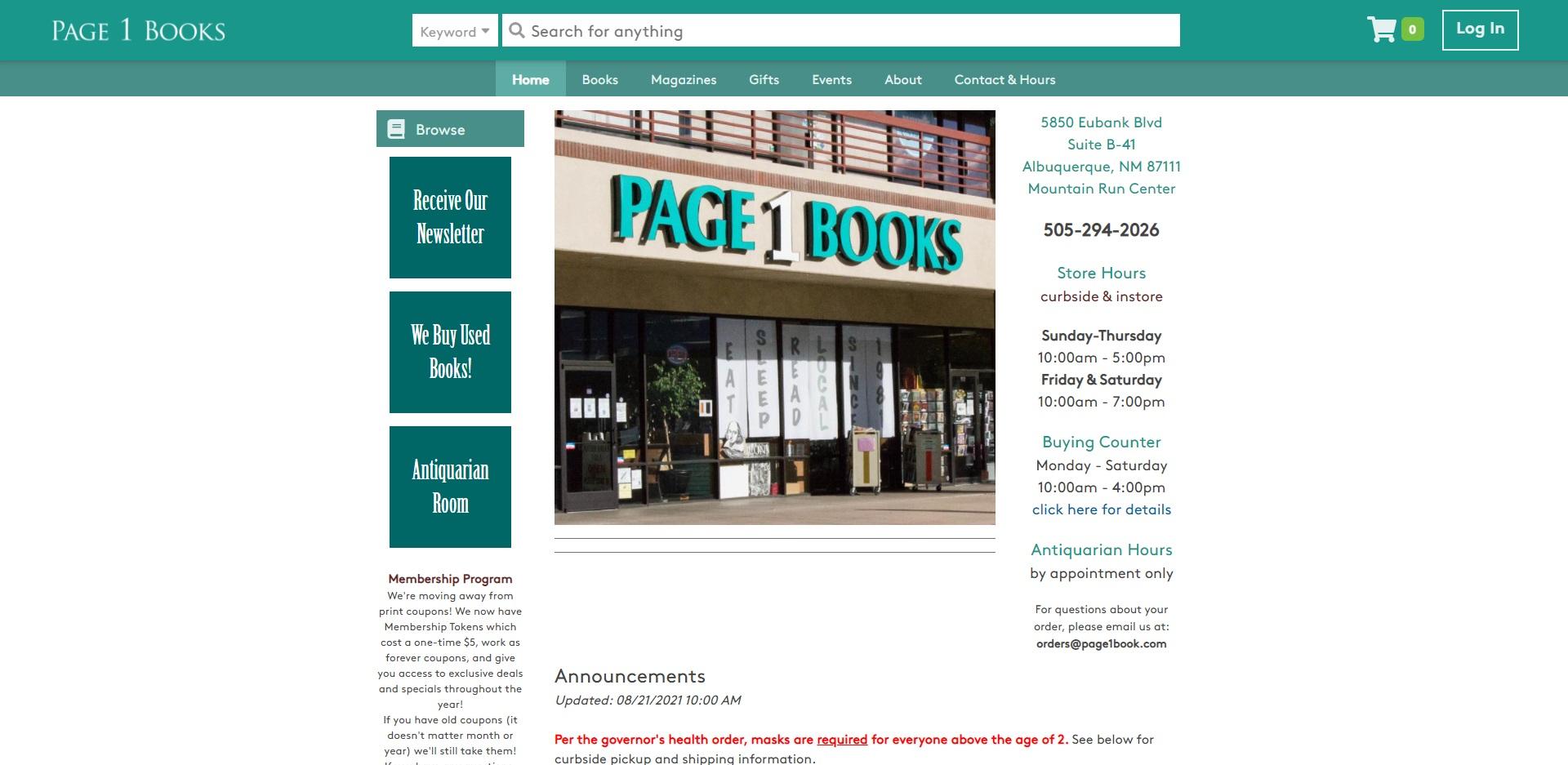 Best Bookstores in Albuquerque, NM