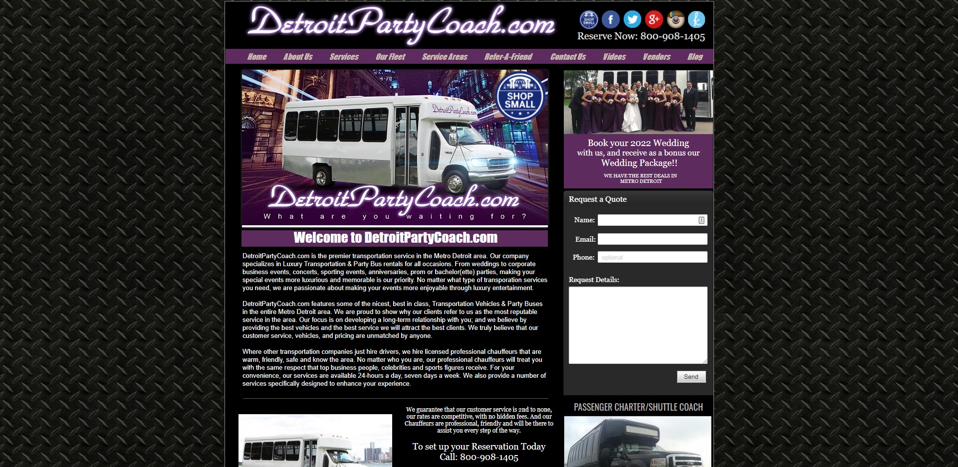 The Best Limo Hire in Detroit, MI