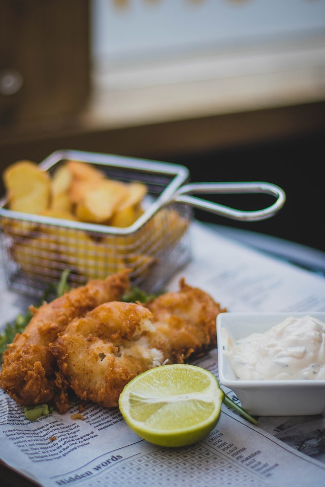 fish and chips in St. Louis