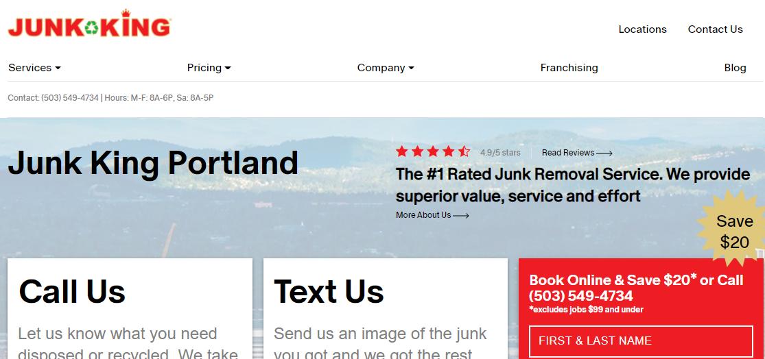 Junk King Portland
