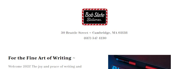 Bob Slate Stationer