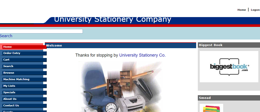 University Stationery Co.