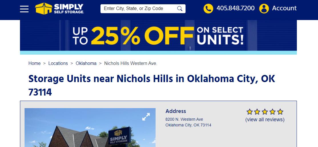 Simply Self Storage Oklahoma City, OK