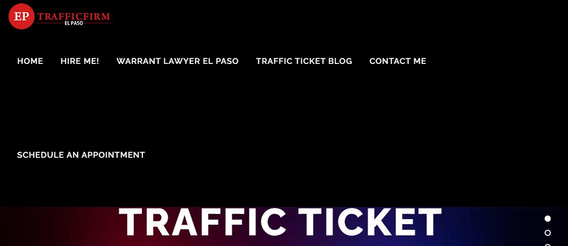 El Paso Traffic Ticket Firm