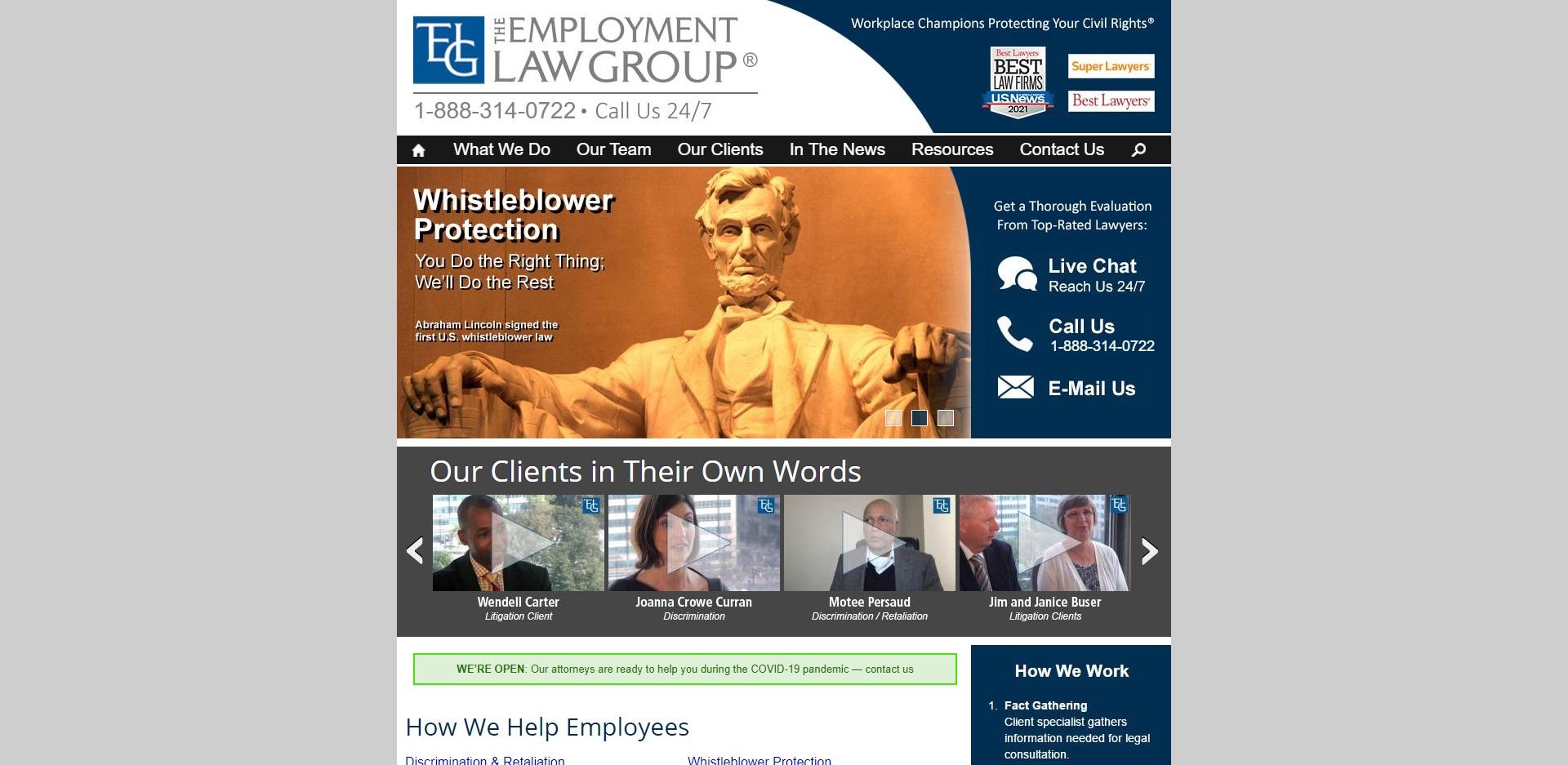 The Best Unfair Dismissal Attorneys in Washington, DC