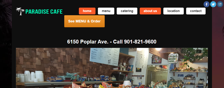 Paradise CafeMemphis, TN