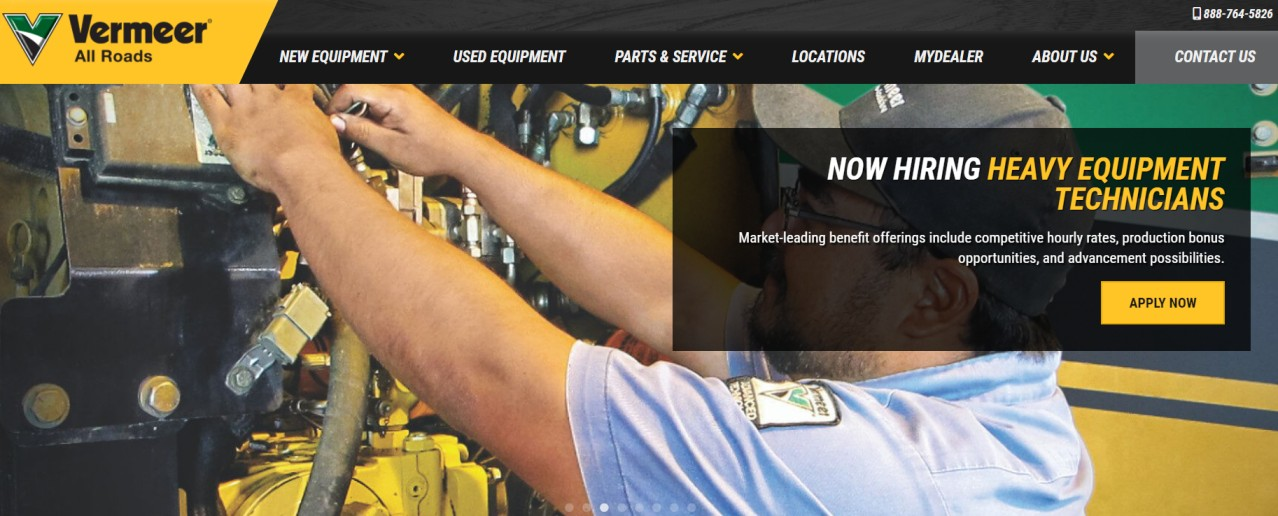 heavy machinery dealers in Charlotte
