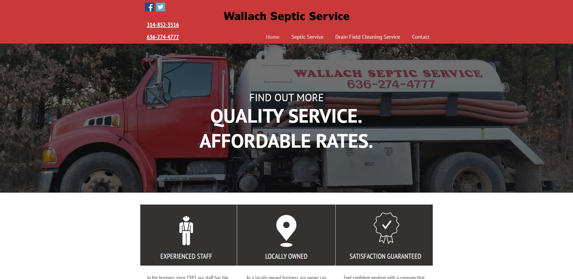 The Best Septic Tank Services in St. Louis, MO
