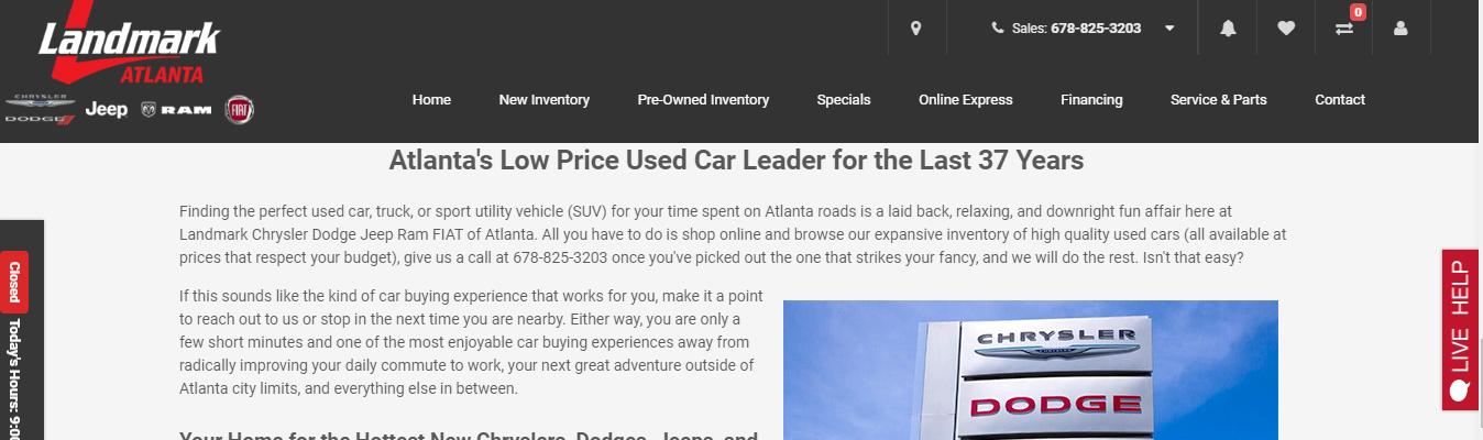 expert Jeep Dealers in Atlanta
