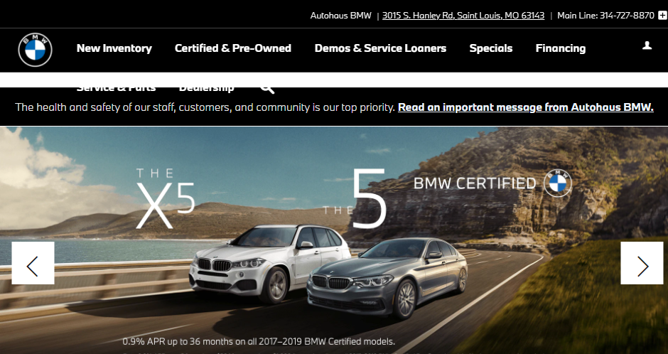 Dedicated BMW Dealers in St. Louis