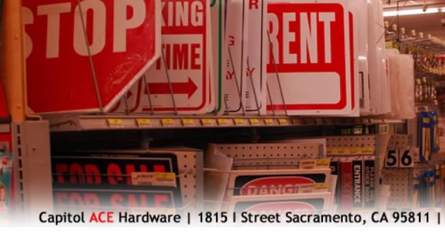 hardware stores in Sacramento