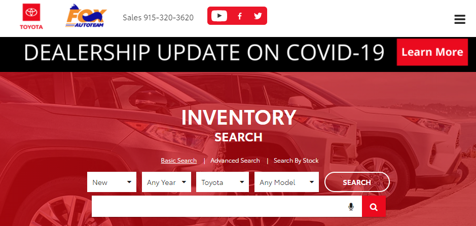 Known Toyota Dealers in El Paso