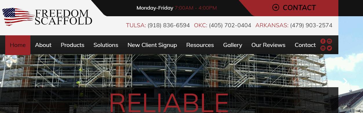 specialized Scaffolders in Oklahoma City