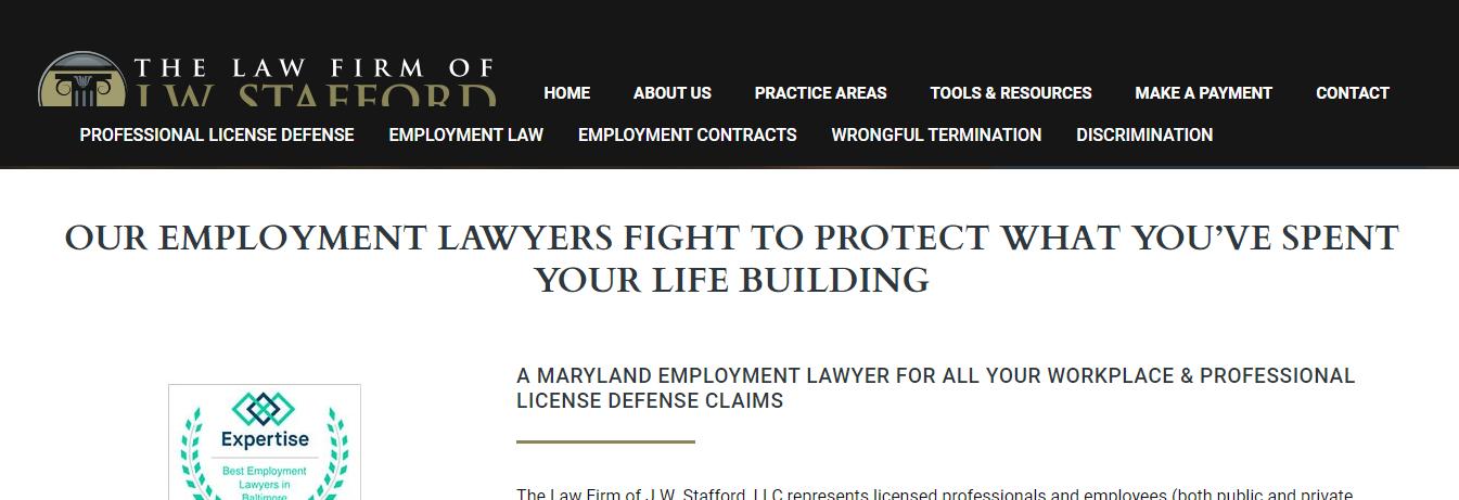 professional Unfair Dismissal Attorneys in Baltimore