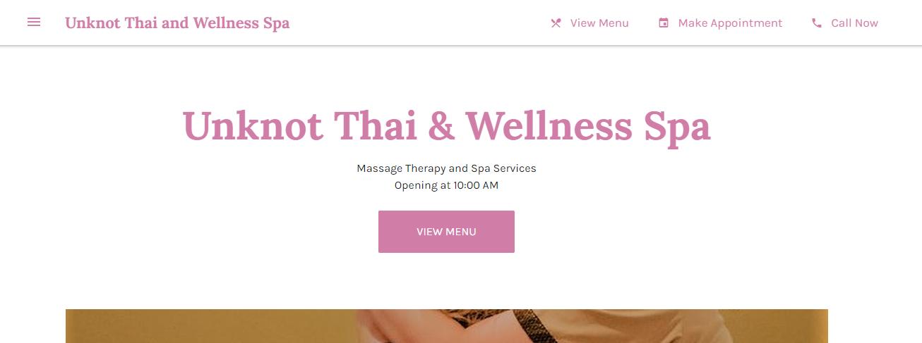 efficient Thai Massage in El Paso