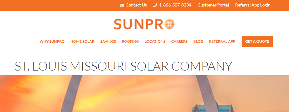 Top Solar Panels in St. Louis, MO