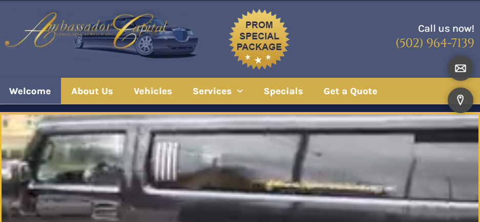 Dependable Limousine Services in Louisville