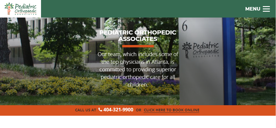 Professional Ortho Pediatricians in Atlanta