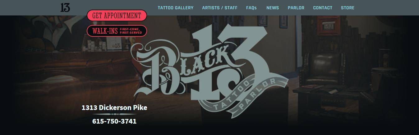 safe Tattoo Shops in Nashville
