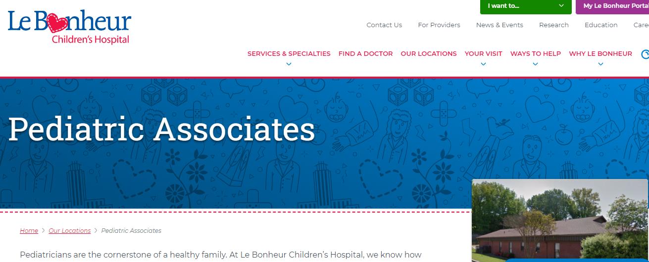 preferred Pediatricians in Memphis