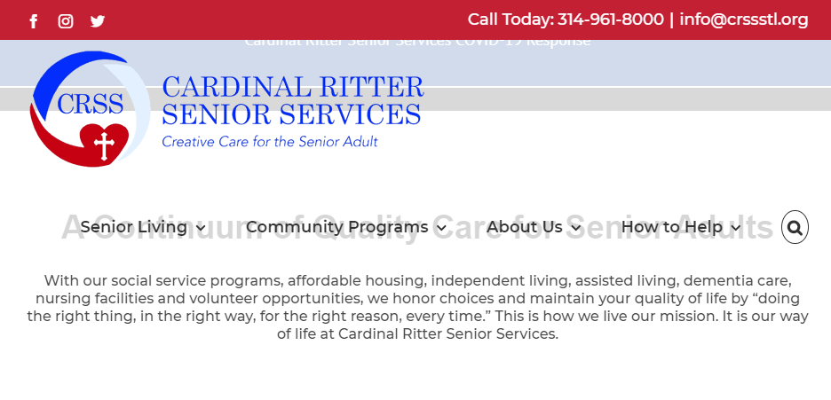 Professional Aged Care Homes in St. Louis
