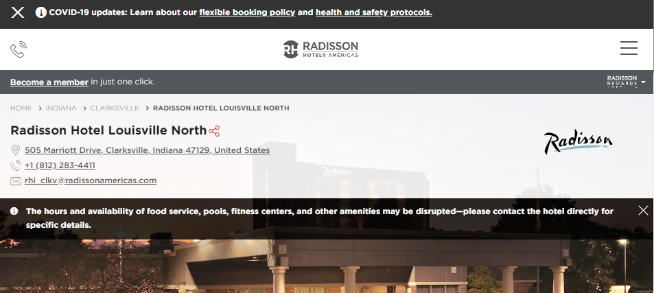 Prestigious Hotels in Louisville