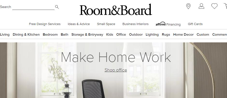 Known Furniture Stores in Boston