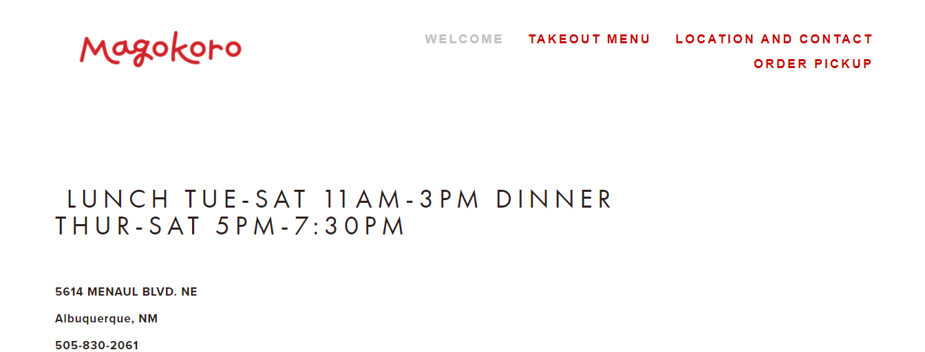 authentic Japanese Restaurants in Albuquerque