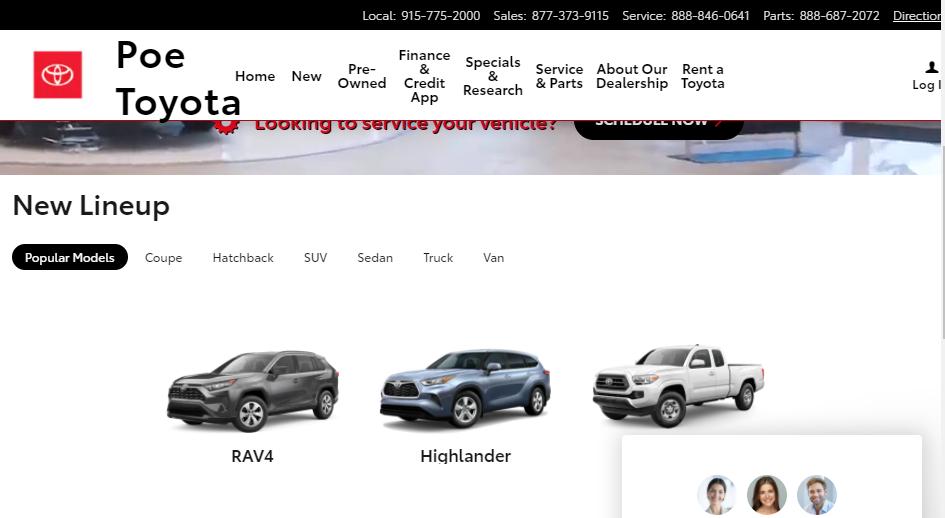 Expert Toyota Dealers in El Paso