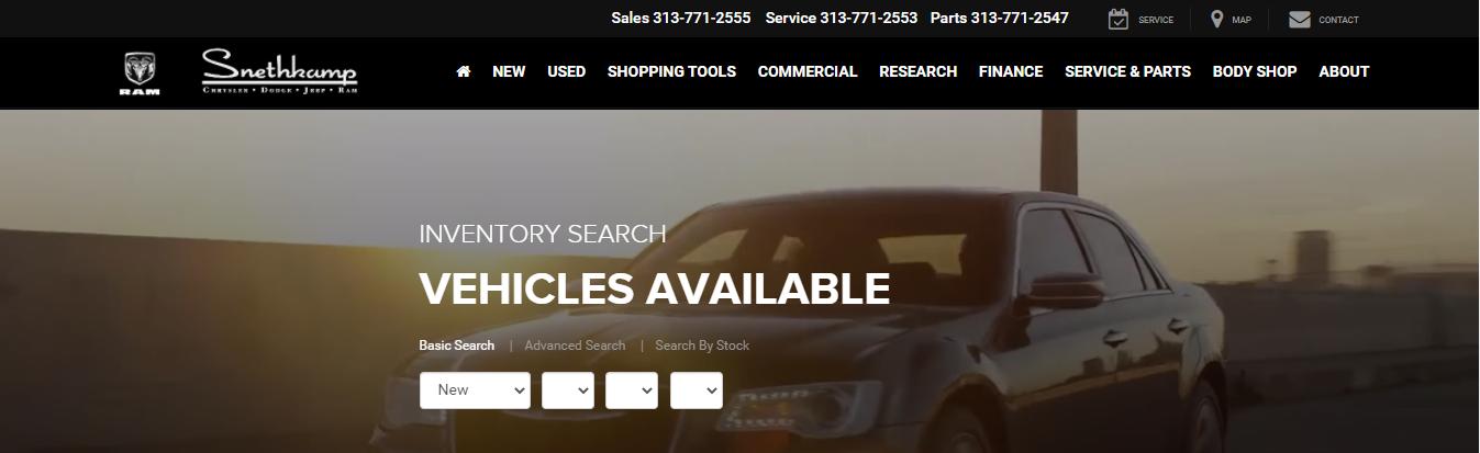 certified Jeep Dealers in Detroit