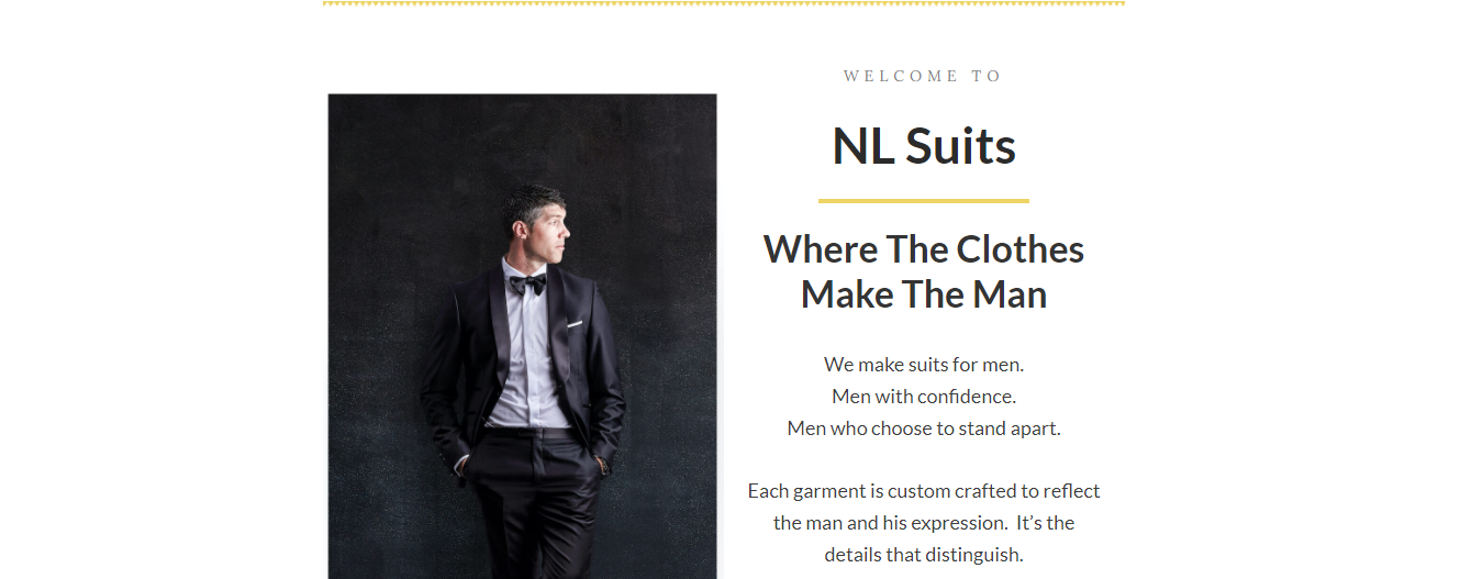 made-to-measure Men's Clothing in Milwaukee
