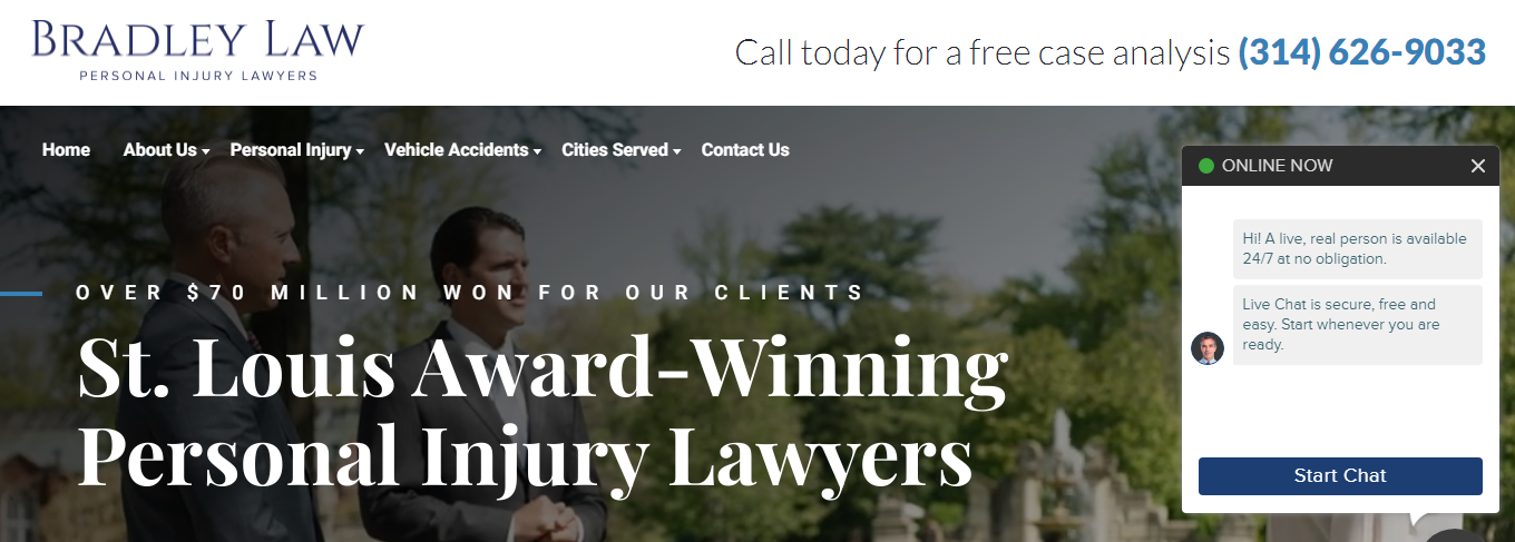 Honest Personal Injury Attorneys in St. Louis, MO