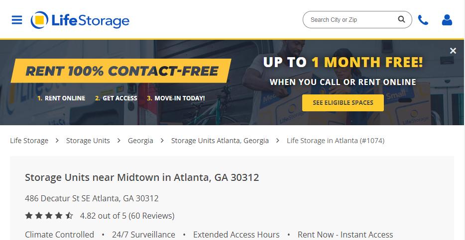 Safe Storage in Atlanta