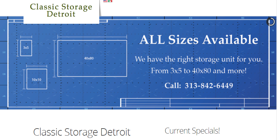 Tidy Storage Facilities in Detroit