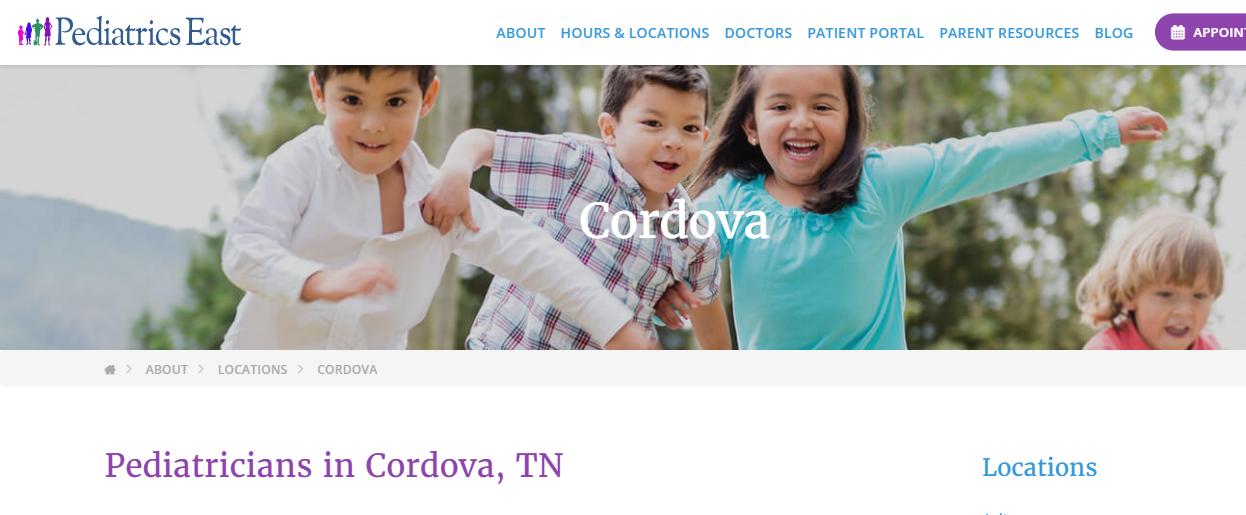 certified Pediatricians in Memphis