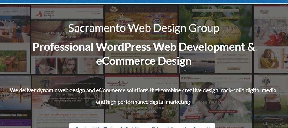 Adept Web Designers in Sacramento
