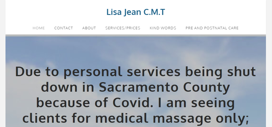 Safe Massage Therapy in Sacramento