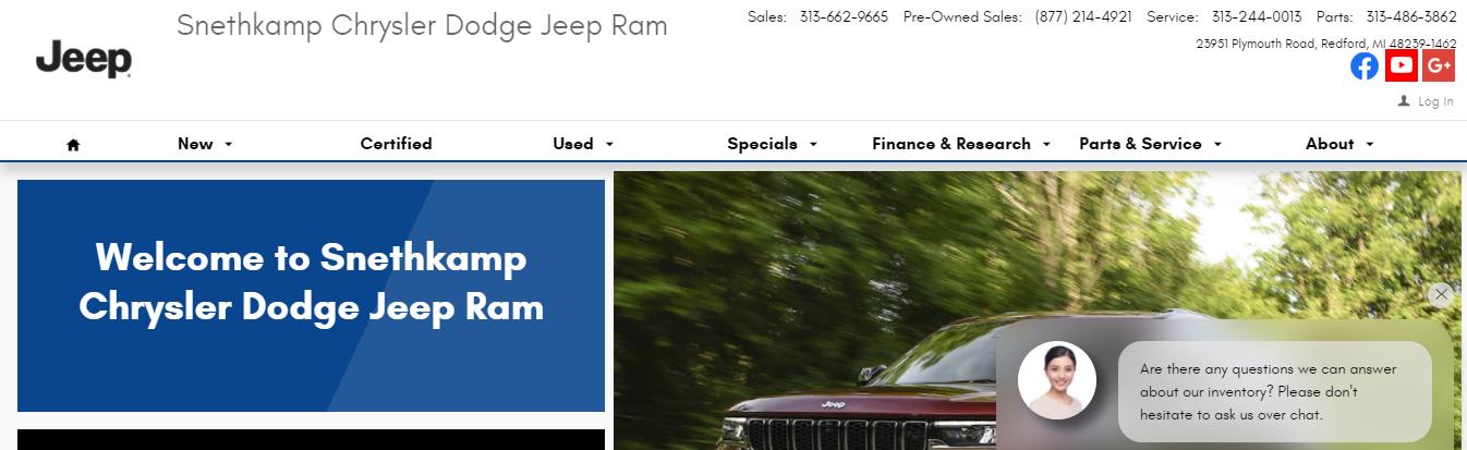 friendly Jeep Dealers in Detroit