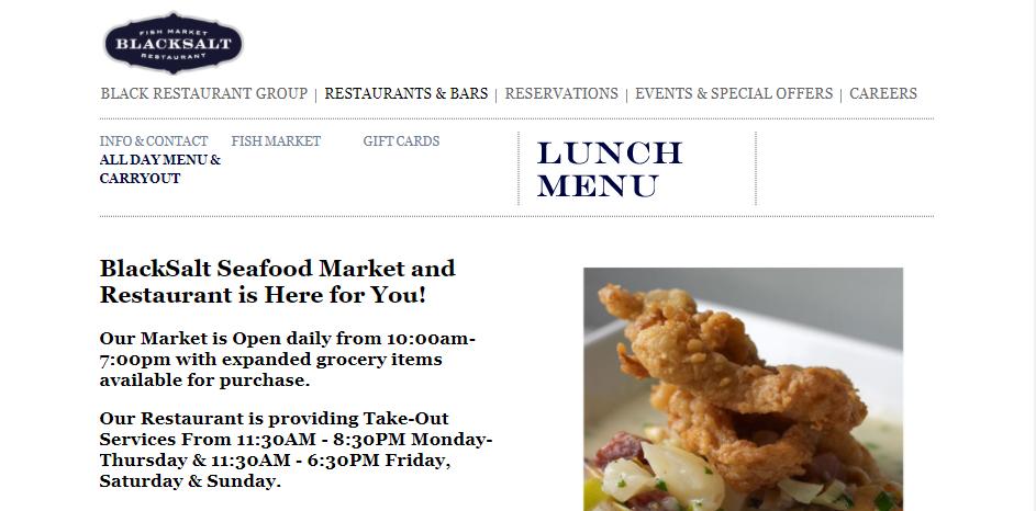 Sustainable Seafood Restaurants in Washington