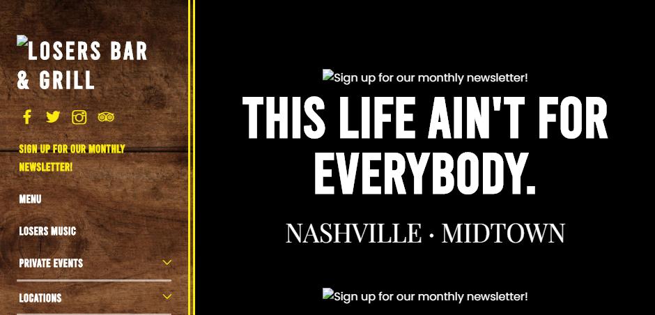 Festive Bars in Nashville