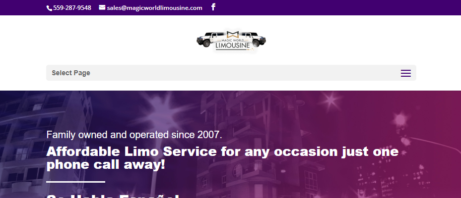 Proficient Limousine Services in Fresno